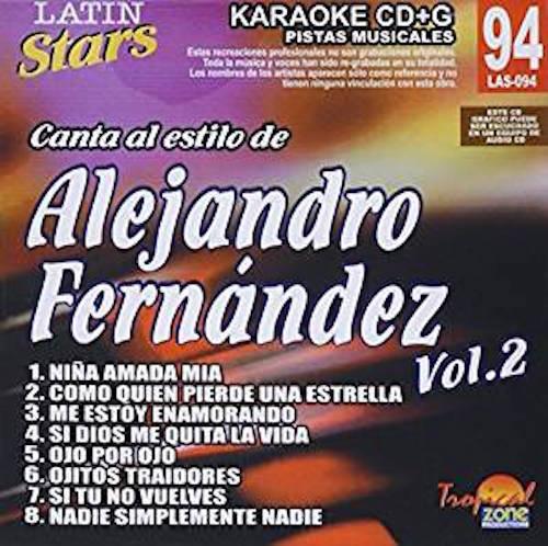 Alejandro Fernandez Vol. 2 LAS 094 Karaoke Lovers