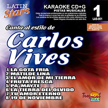 Carlos Vives LAS 001 Karaoke Lovers