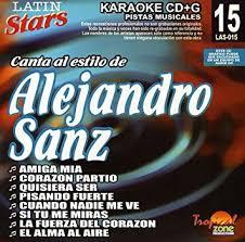 Alejandro Sanz LAS 015 Karaoke Lovers