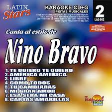 Nino Bravo LAS 002 Karaoke Lovers