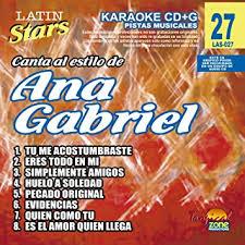 Ana Gabriel LAS 027 Karaoke Lovers