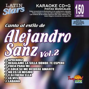 Alejandro Sans Vol. 2 LAS 150 Karaoke Lovers