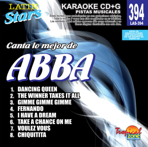 ABBA Vol. 1 LAS 394 Karaoke Lovers