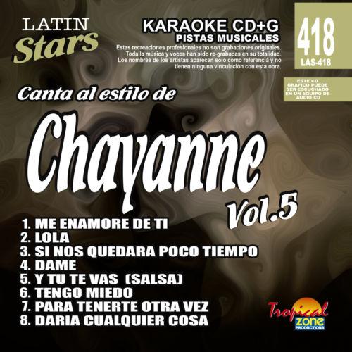 Chayanne Vol. 5 LAS 418