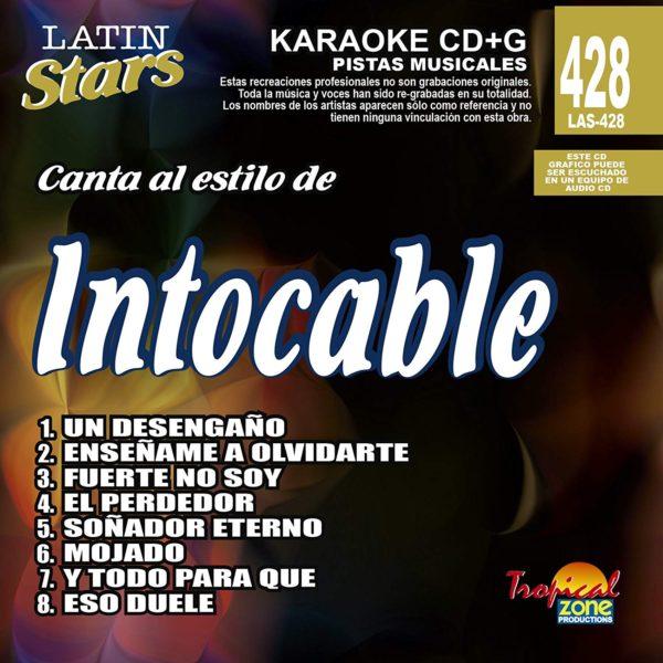Intocable LAS 428 Karaoke Lovers