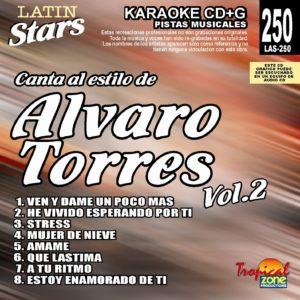 Alvaro Torres Vol. 2 LAS 250 Karaoke Lovers