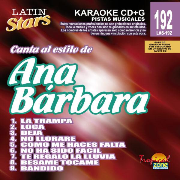 Ana Barbara LAS 192 Karaoke Lovers